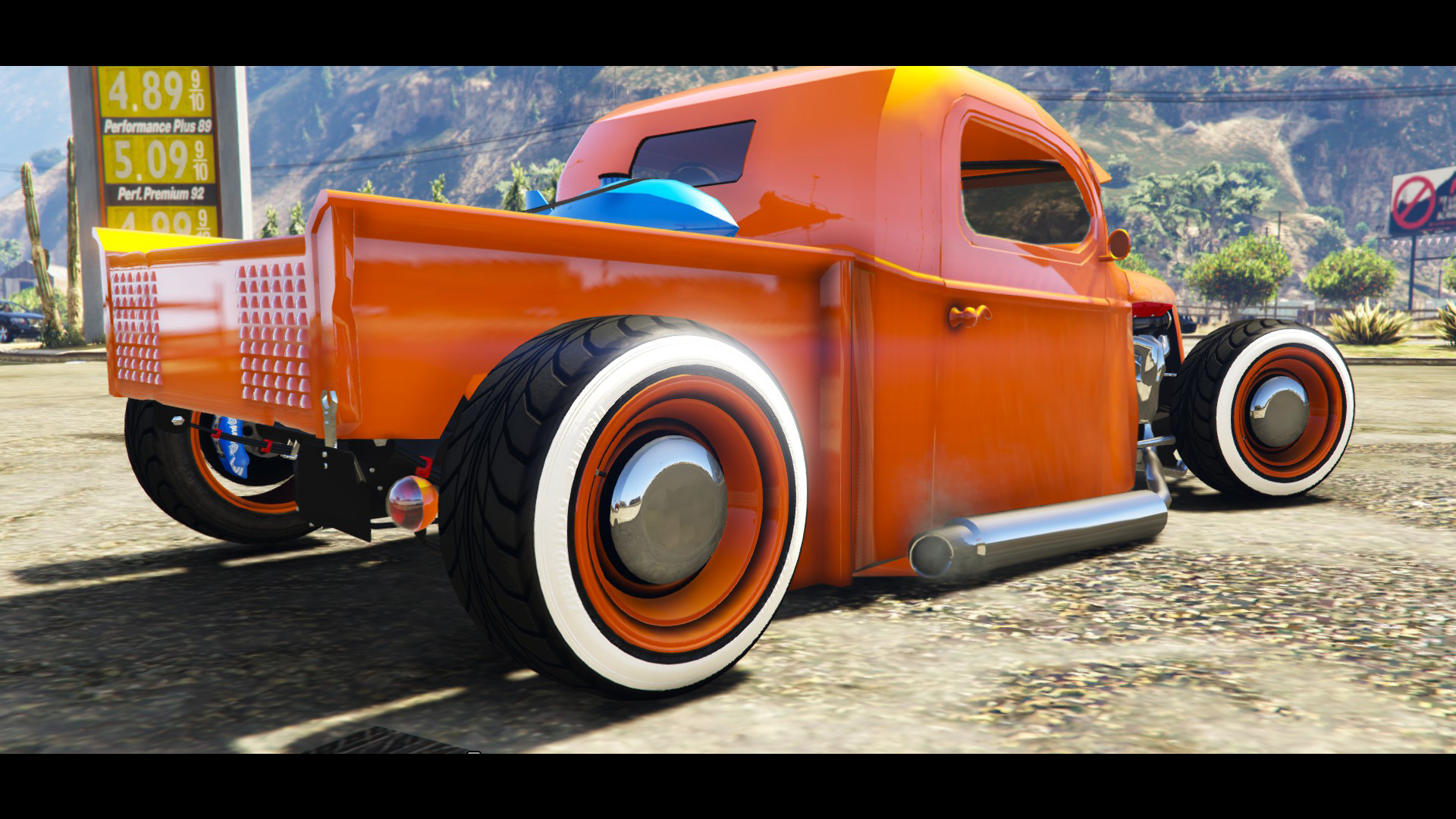1936 Ford Pickup Hotrod Style[Full Tunable] для GTA V - Скриншот 1