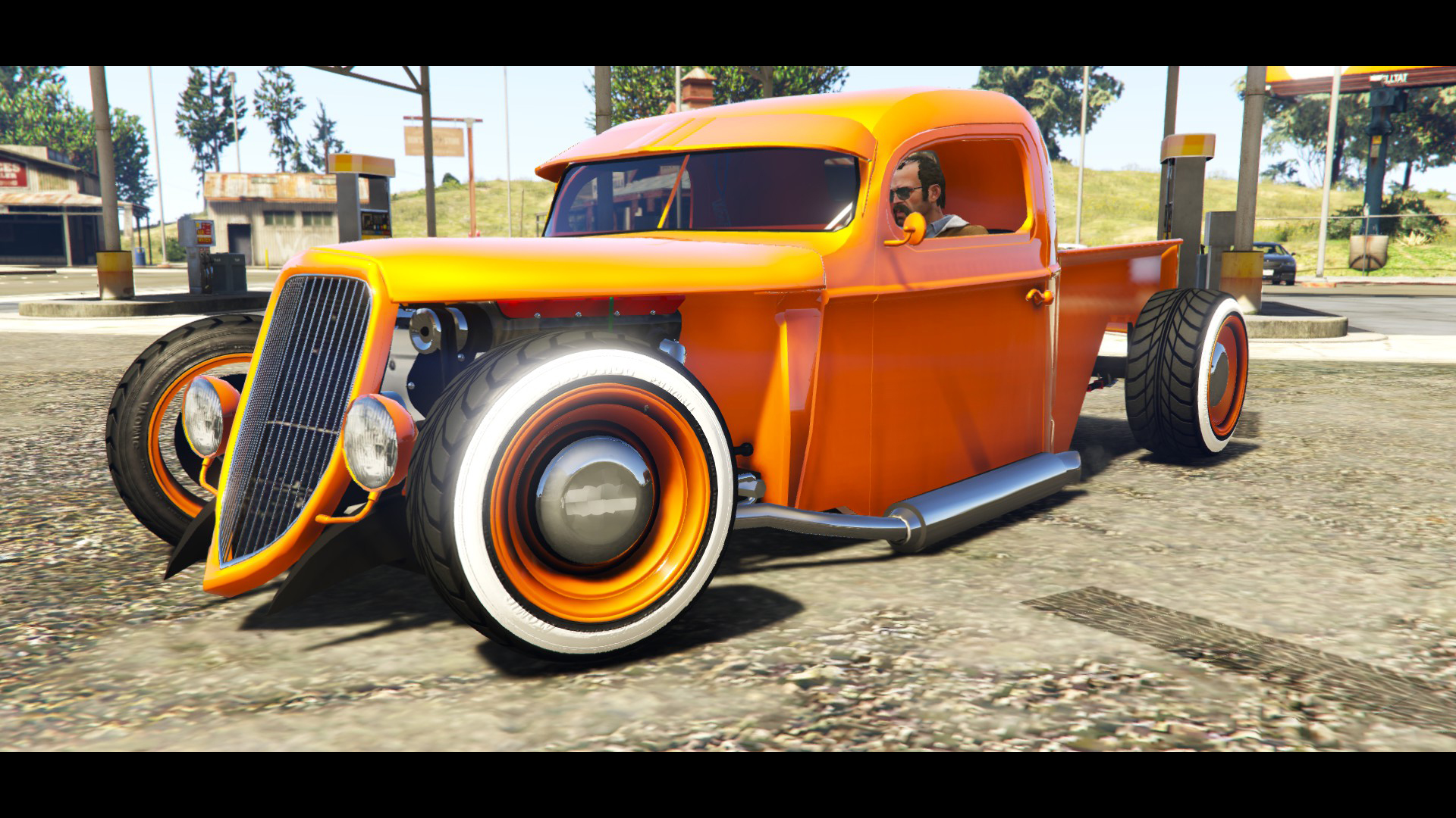 1936 Ford Pickup Hotrod Style[Full Tunable] для GTA V - Скриншот 2