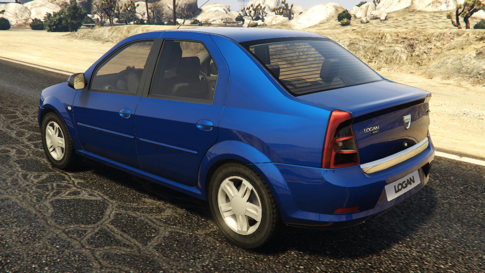 2008 Dacia Logan для GTA V - Скриншот 2