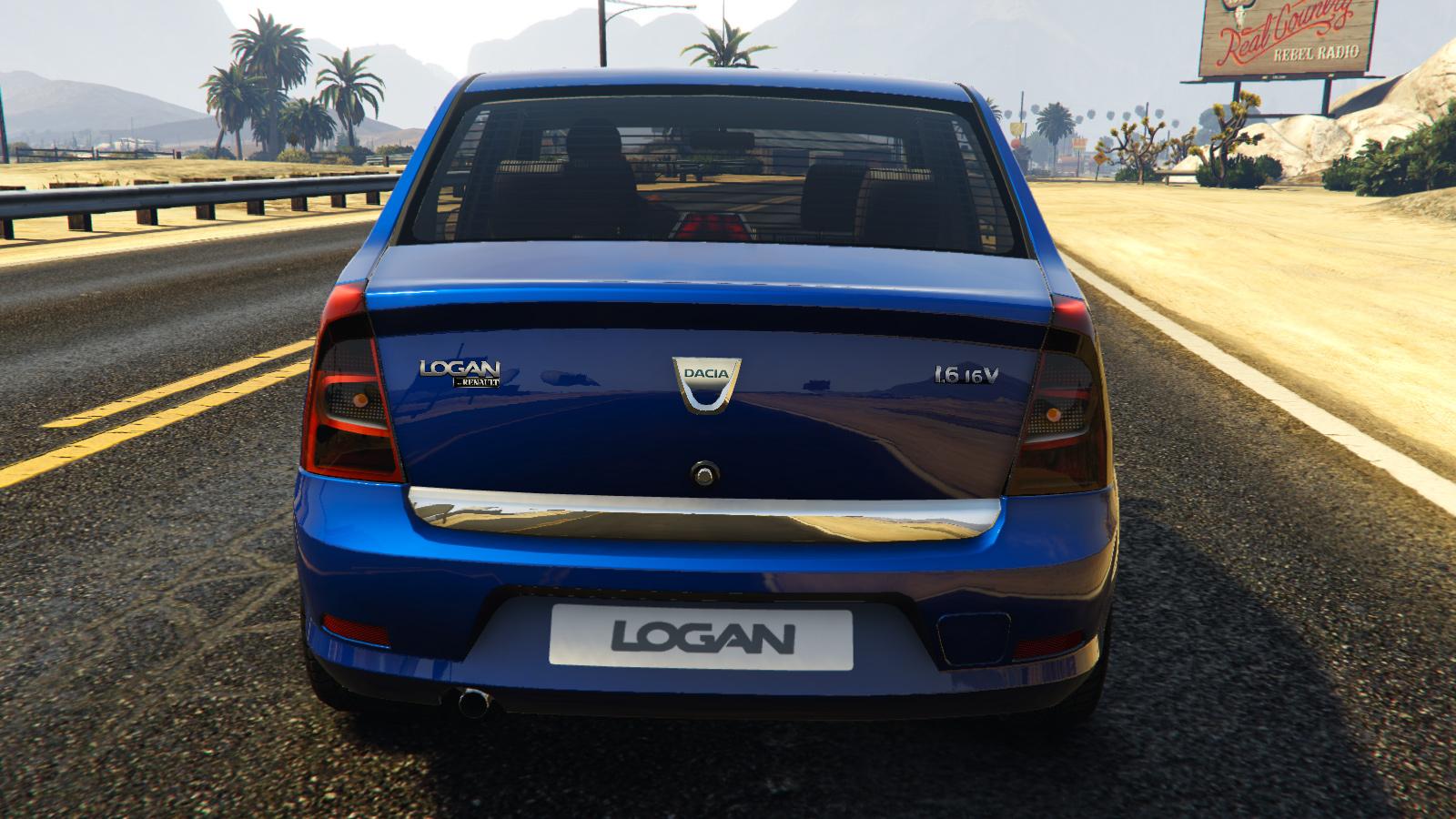 2008 Dacia Logan для GTA V - Скриншот 3