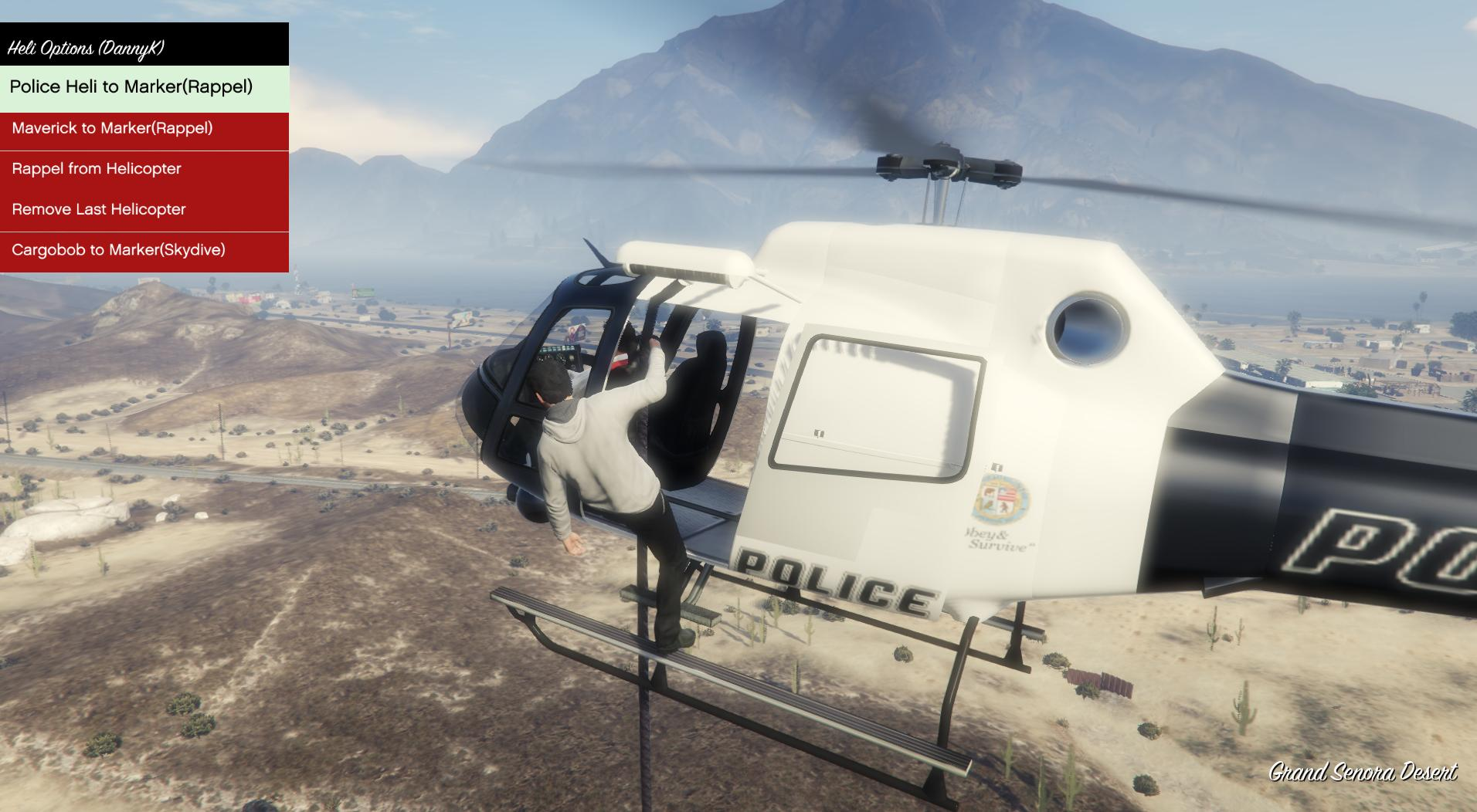 Release] Airtaxi + Helicopter Rappel mod v2 02 / Works