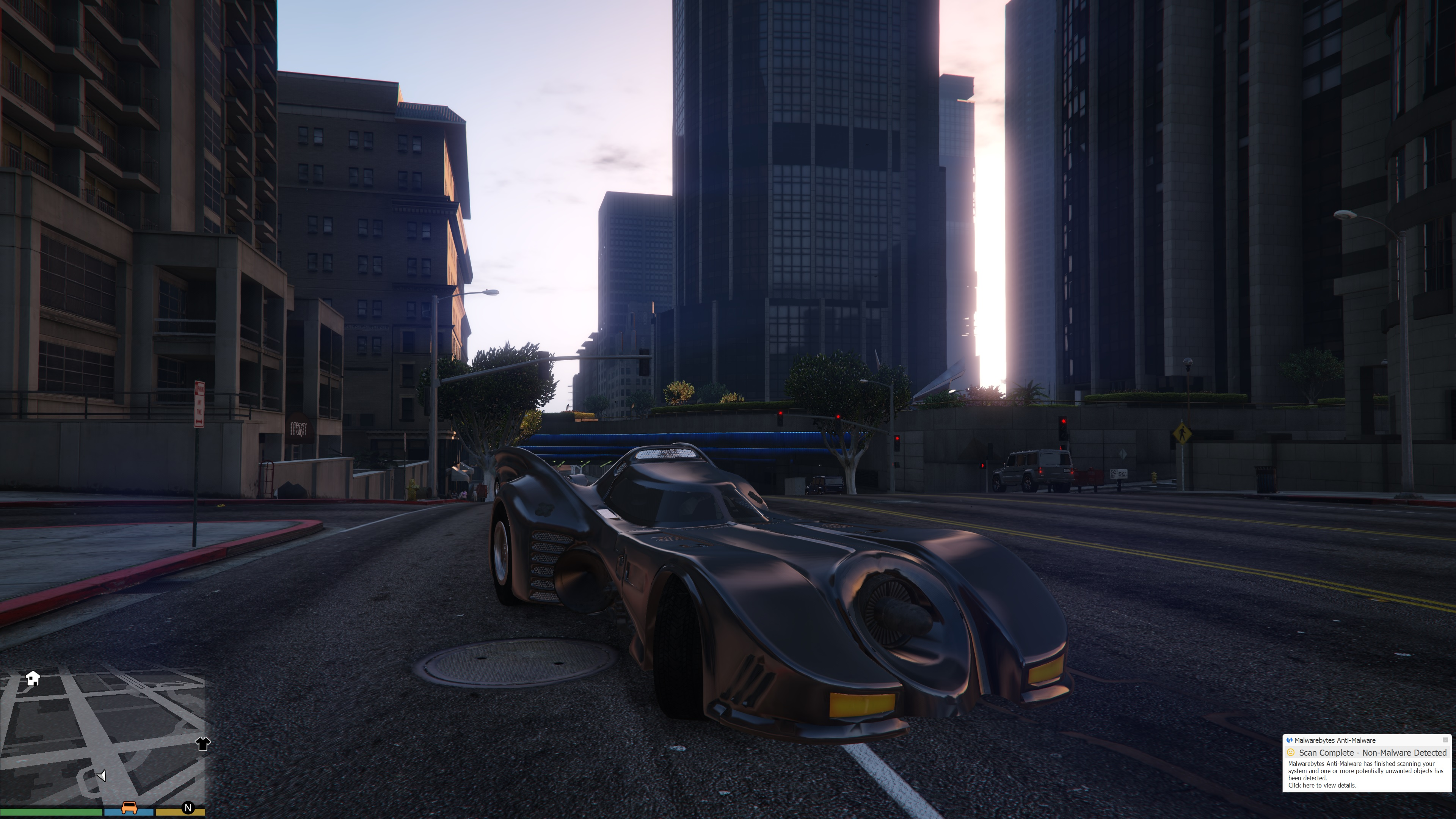 Batmobile 1989 [BETA] для GTA V - Скриншот 3