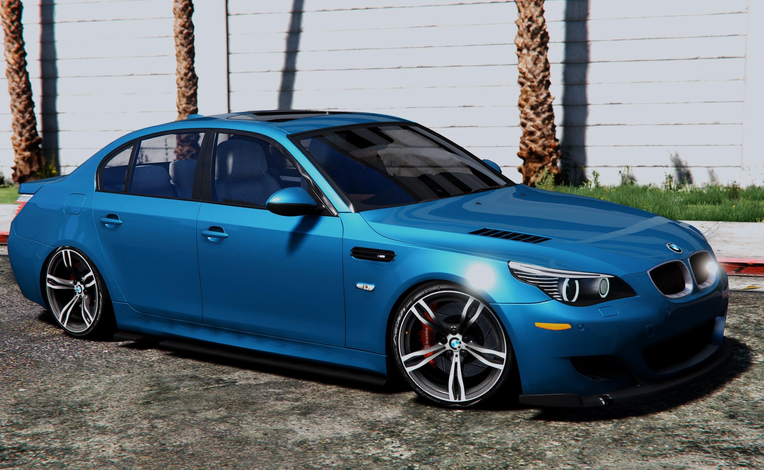 BMW M5 E60 v1.1 для GTA V - Скриншот 1