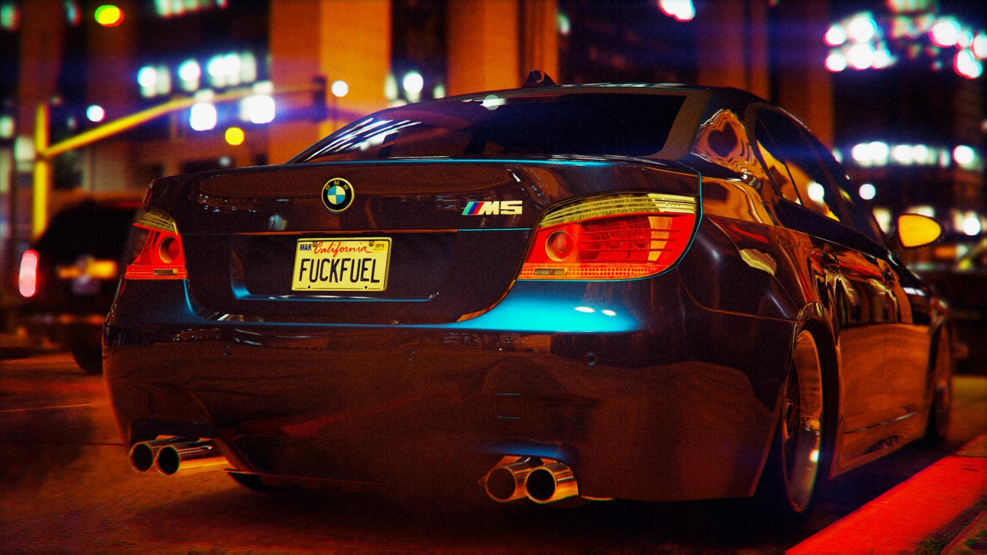 BMW M5 E60 v1.1 для GTA V - Скриншот 3