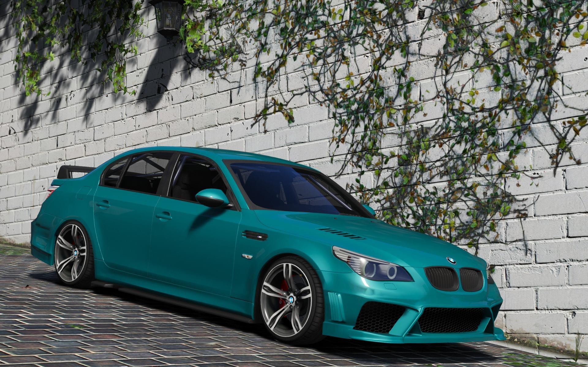 BMW M5 E60 v1.1 для GTA V - Скриншот 2