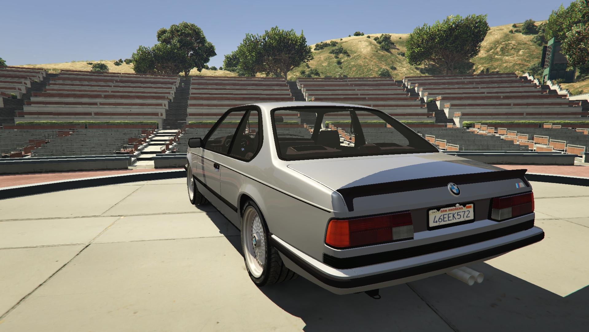 BMW M635 CSI E24 1986 для GTA V - Скриншот 1