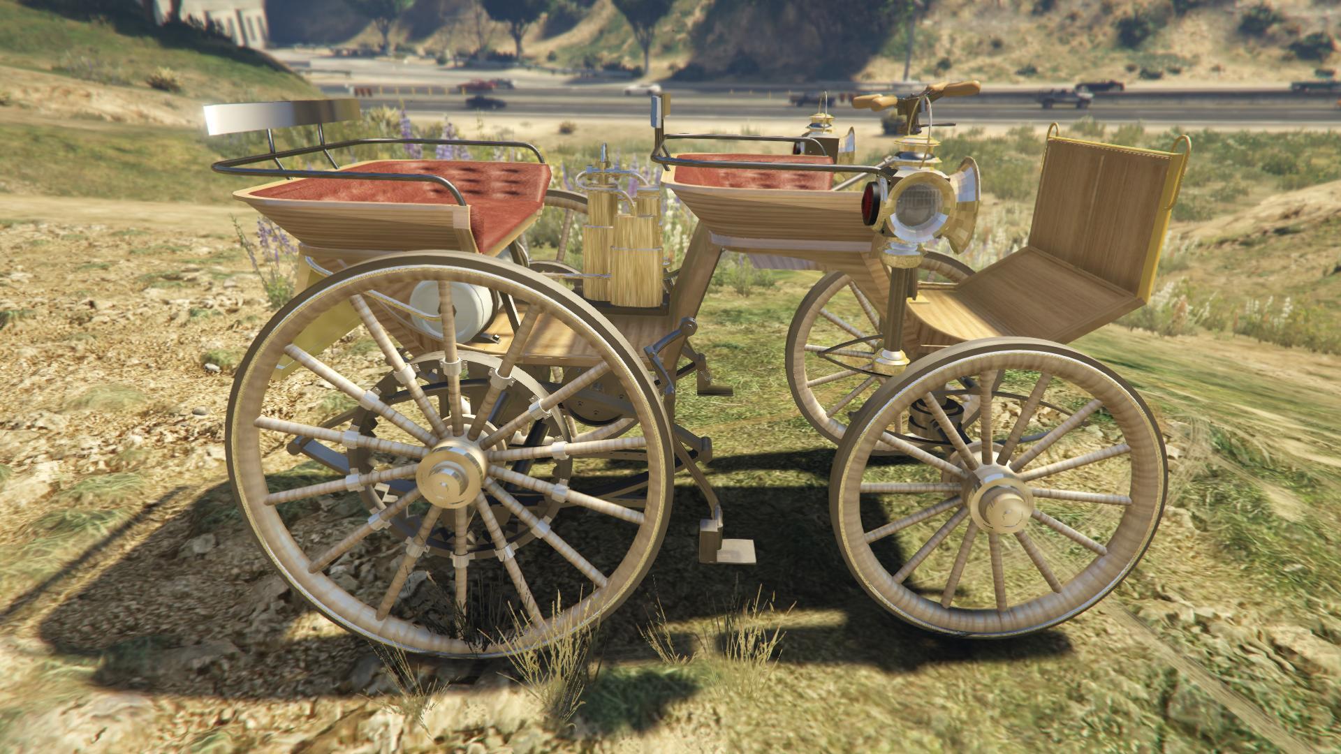 Daimler 1886 для GTA V - Скриншот 3