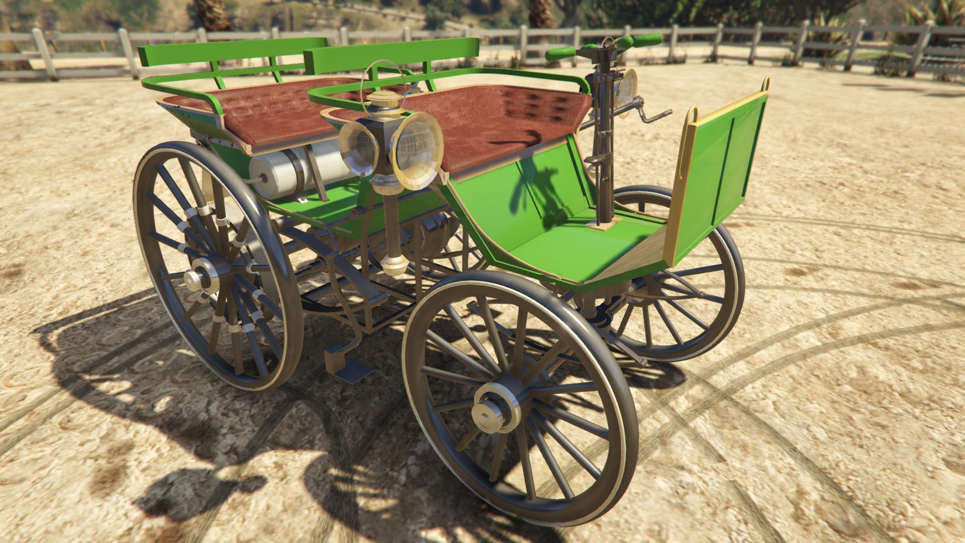 Daimler 1886 для GTA V - Скриншот 1