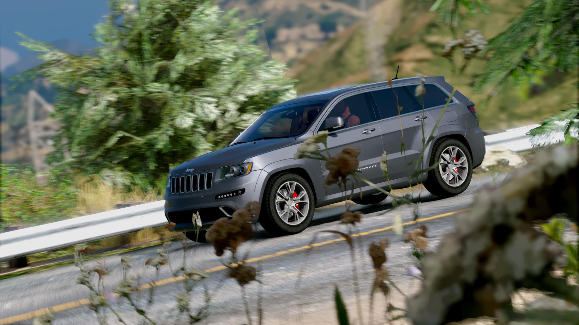 Grand Cherokee SRT8 2013 для GTA V - Скриншот 1