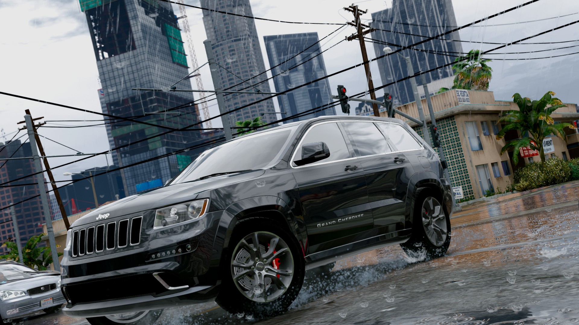 Grand Cherokee SRT8 2013 для GTA V - Скриншот 2