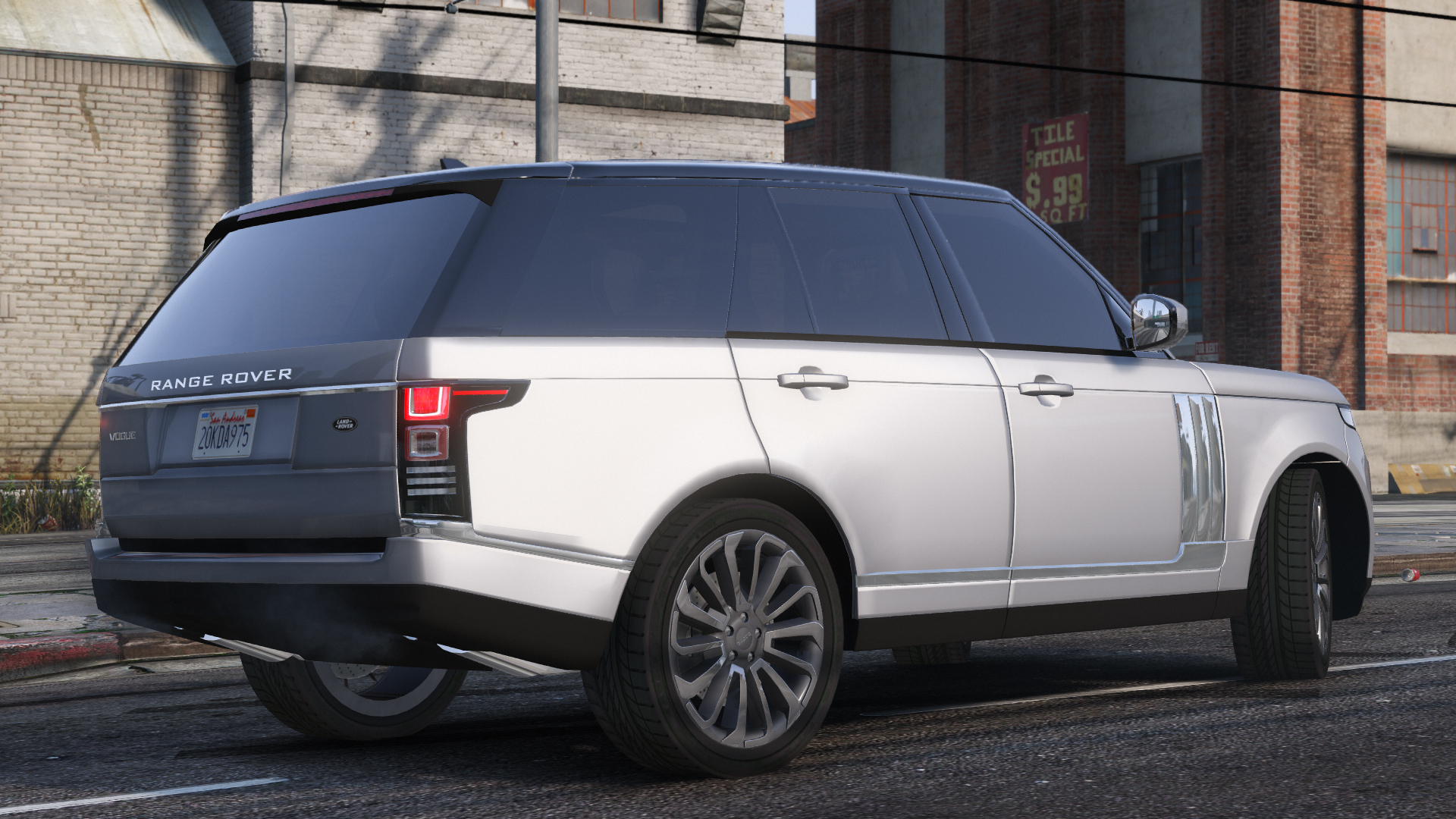 Range Rover Vogue 2013 1.2 для GTA V - Скриншот 1