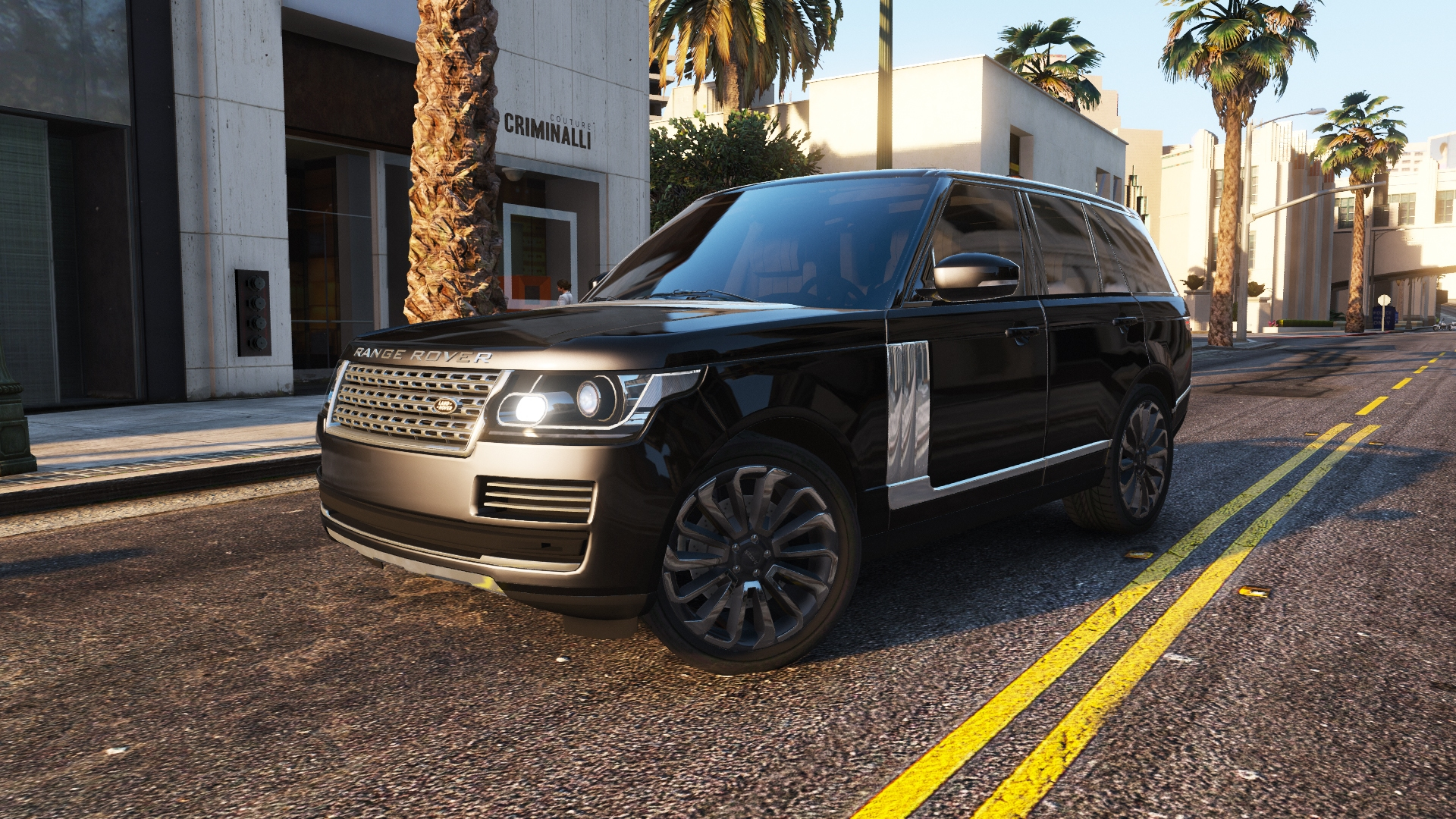 Range Rover Vogue 2013 1.2 для GTA V - Скриншот 2