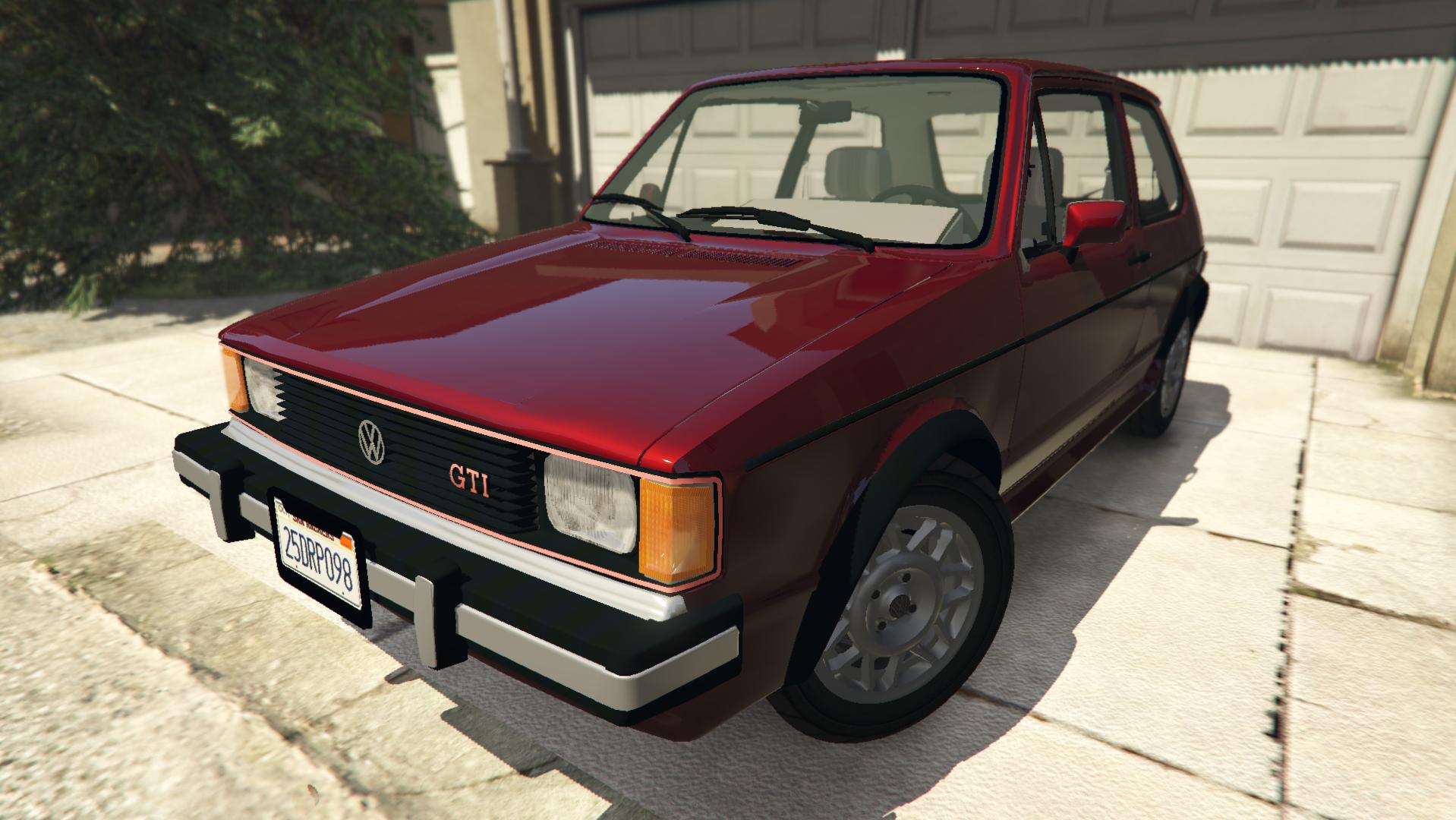 Volkswagen Rabbit 1986 для GTA V - Скриншот 1