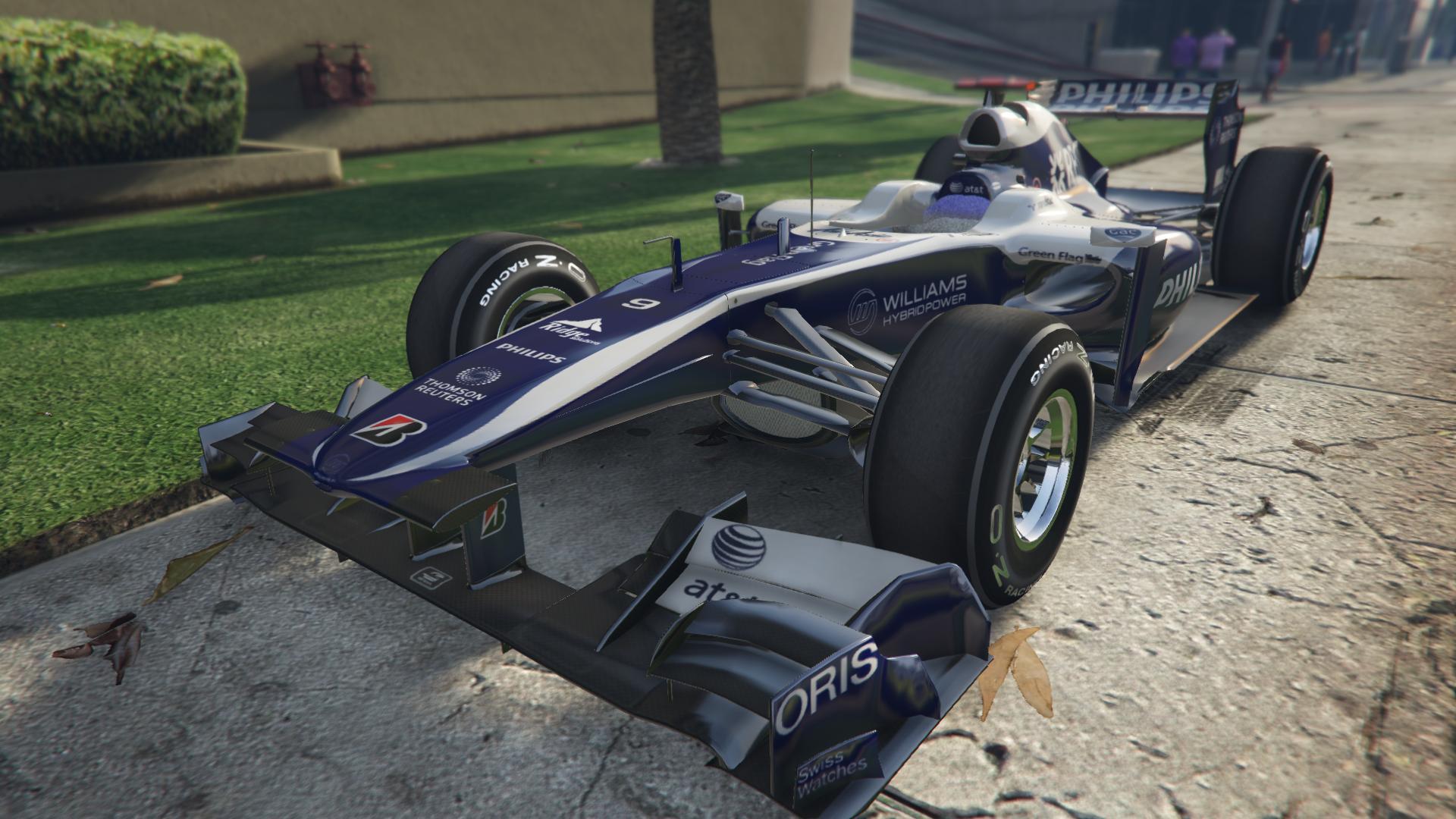 Williams F1 для GTA V - Скриншот 3