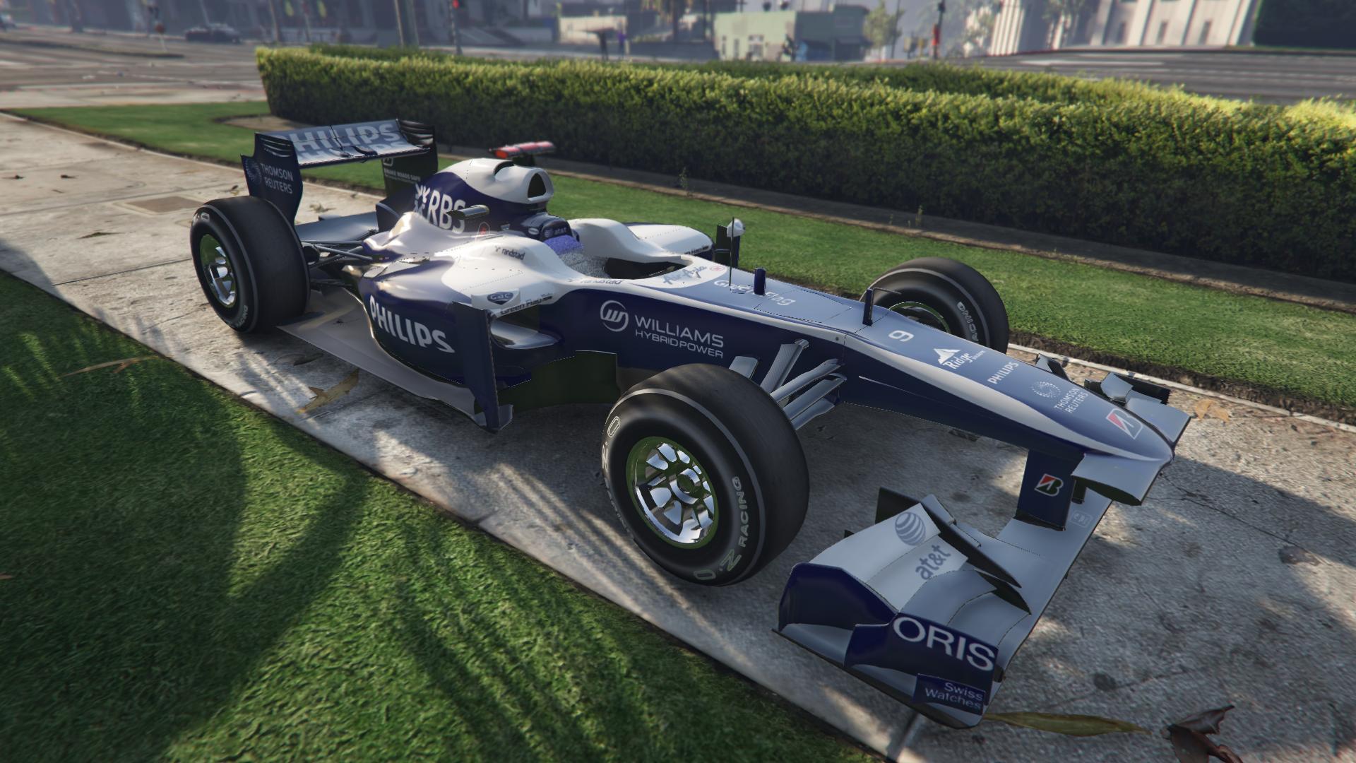 Williams F1 для GTA V - Скриншот 1