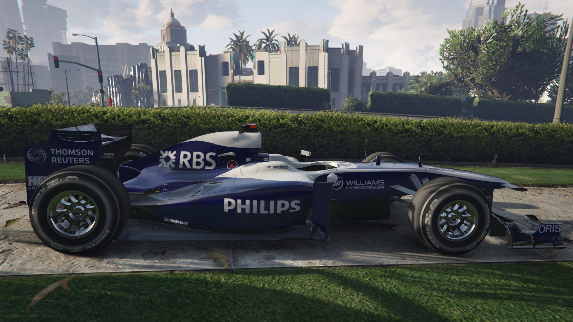 Williams F1 для GTA V - Скриншот 2